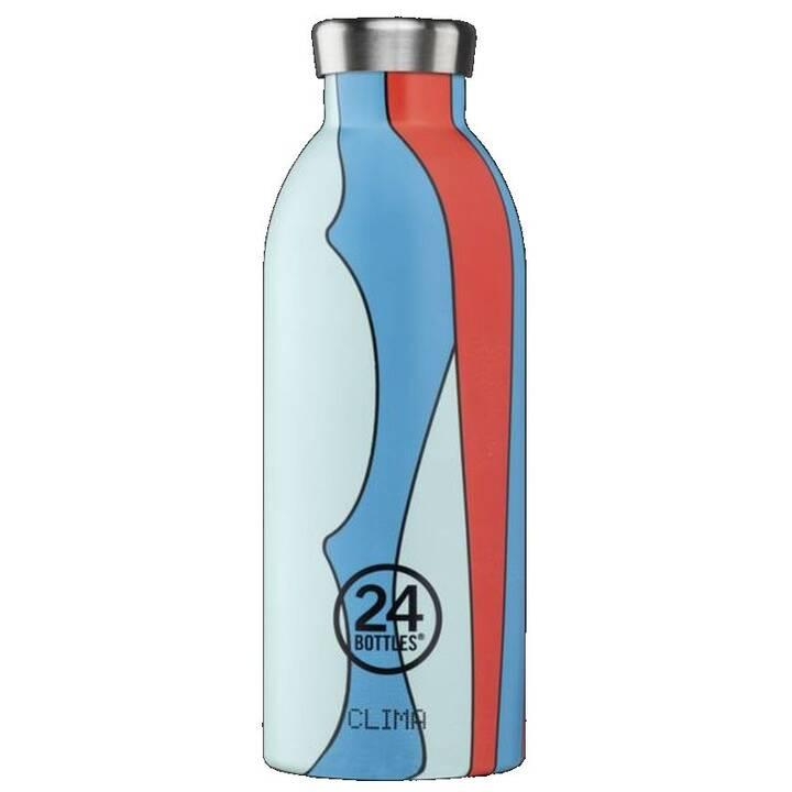 24BOTTLES Gourde isotherme Clima (0.5 l, Rouge, Bleu clair, Bleu)