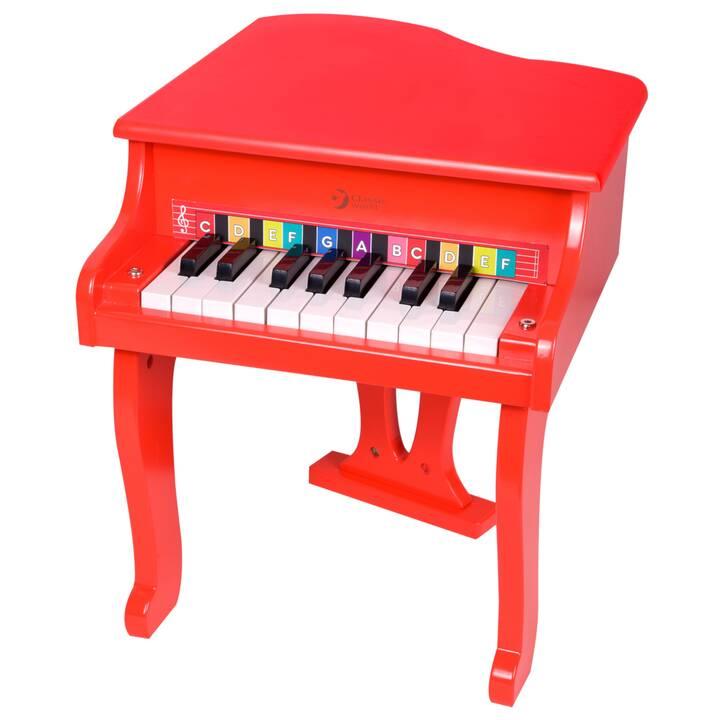 CLASSIC WORLD Fare musica Stars Piano (Rosso)