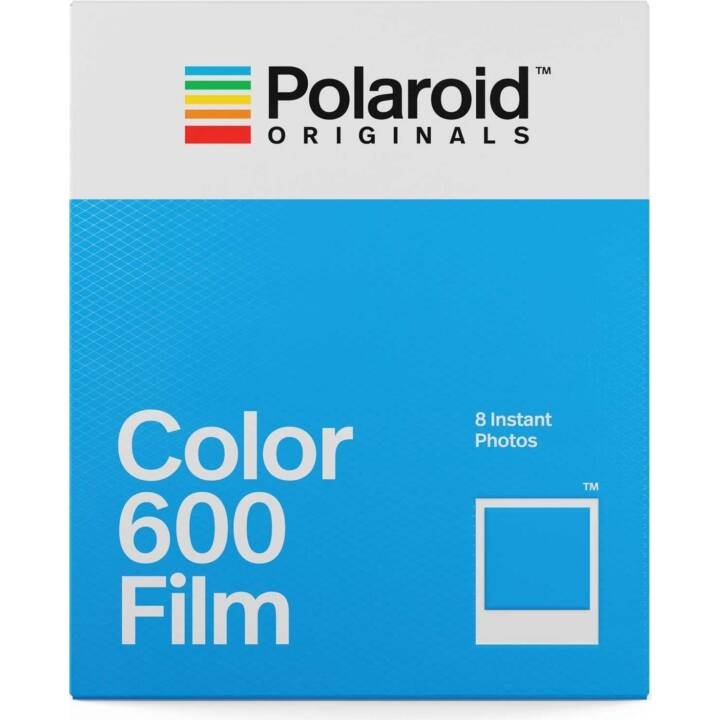 POLAROID Color 600 Film 8x Stück