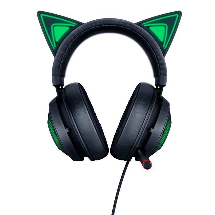 RAZER Cuffia da gioco Kraken - Kitty Black Edition (On-Ear)