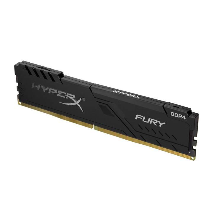 HYPERX FURY (1 x 4 Go, DDR4-SDRAM, DIMM 288-Pin)