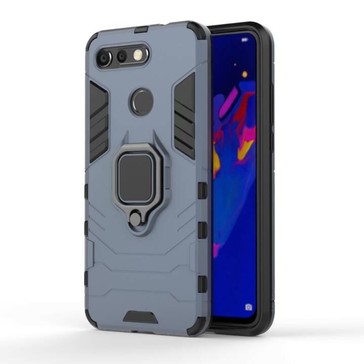 EG Mornrise Rückseite mit Metallring für Huawei P Smart Plus - Deep Blue