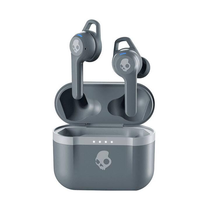 SKULLCANDY Indy Evo (In-Ear, Bluetooth 5.0, Gris)