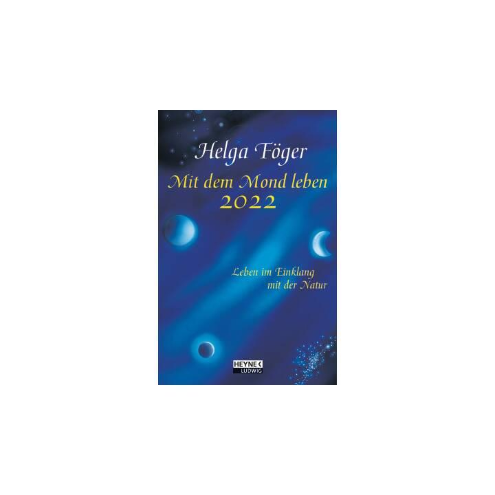 HEYNE VERLAG Agendina tascabile Moon 2022