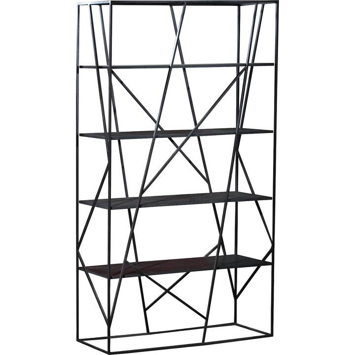 SIT-MÖBEL Miami Regal (120 cm x 38 cm x 200 cm, Metall)