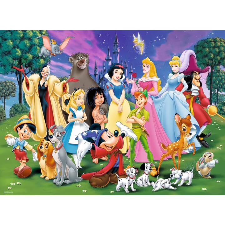 RAVENSBURGER Disney puzzle preferiti di Disney