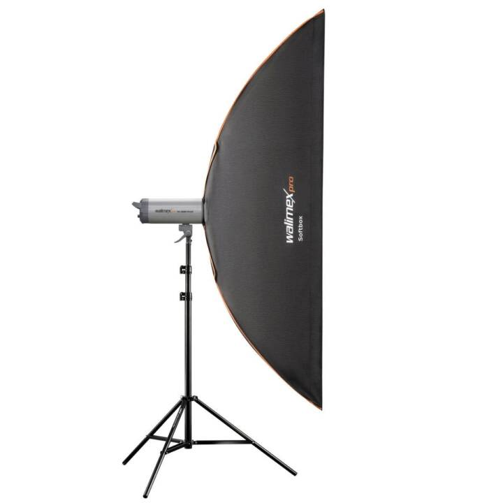 WALIMEX Softbox (Noir, Blanc, 250.0 x 1800.0 mm)