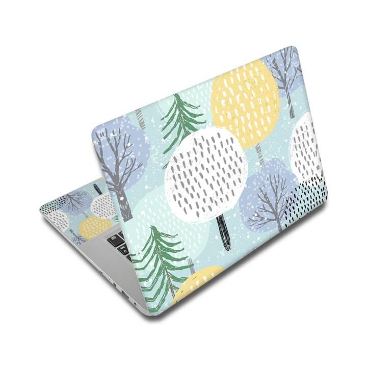 "EG adesivo per laptop 15"" - alberi"