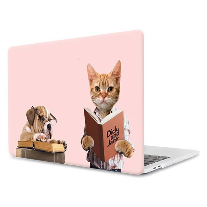 "EG MTT Copertina per computer portatile per Macbook Pro 13"" Touch Bar - Animali rosa divertenti"