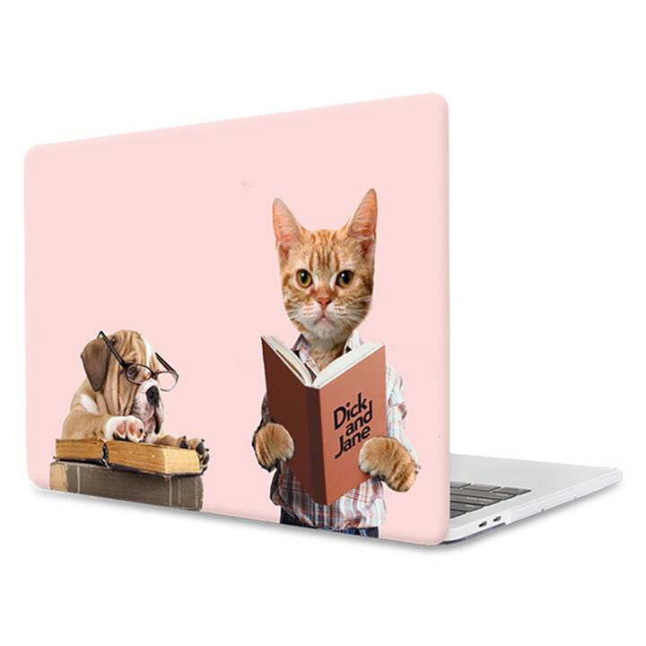 "EG MTT Laptop-Hülle für Macbook Pro 13"" CD-ROM - Pink Funny Animals"