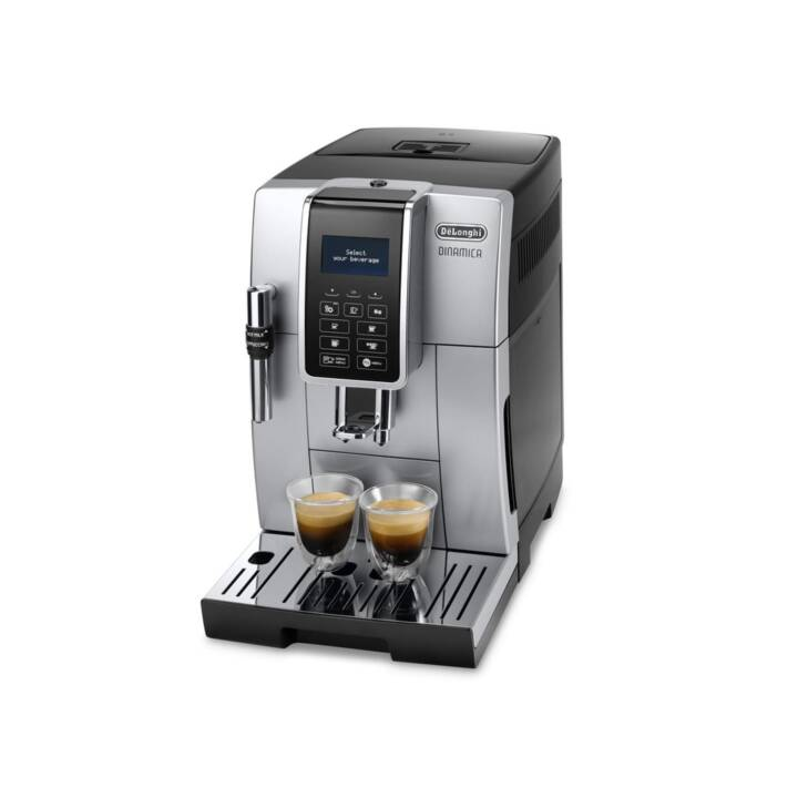 DELONGHI Dinamica ECAM 350.35.SB (Argento, Nero, 1.8 l, Macchine caffè automatiche)