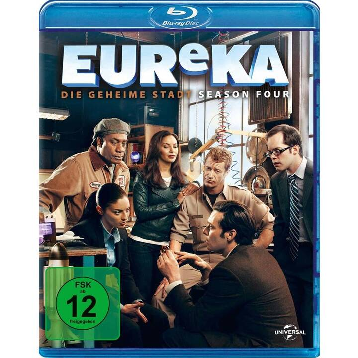Eureka Saison 4 (DE, EN, FR)
