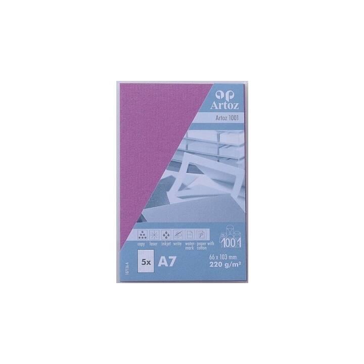 Biglietti da visita ARTOZ 1001 A7 sambuco A7 - 5 pezzi