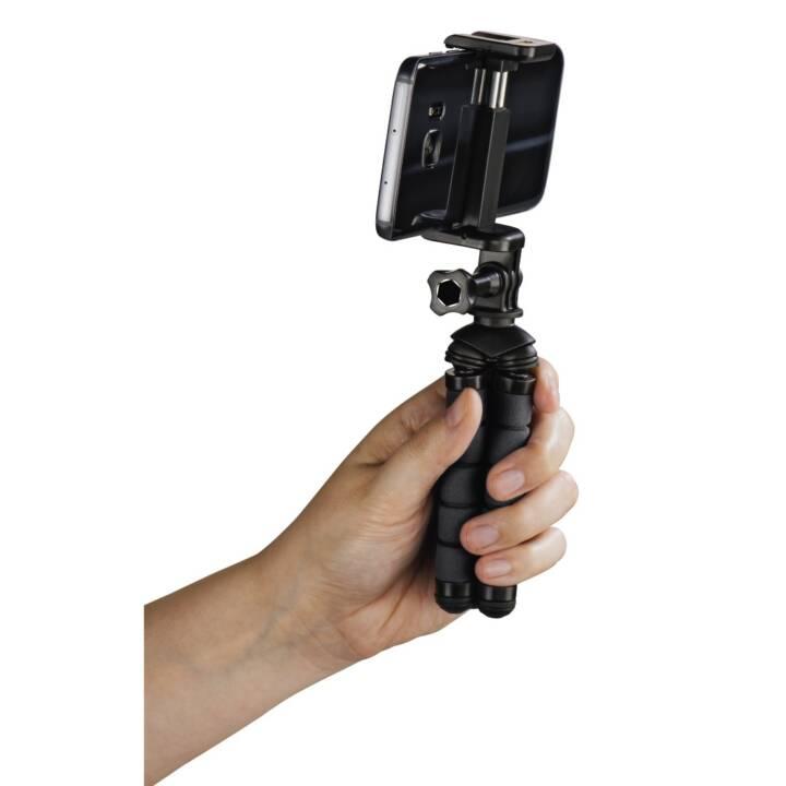 """HAMA Mini trépied """"Flex"""" pour Smartphone et GoPro, 14 cm, noir"""