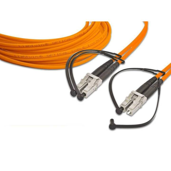 LIGHTWIN Netzwerkkabel (LC Multi-Mode, 5 m)