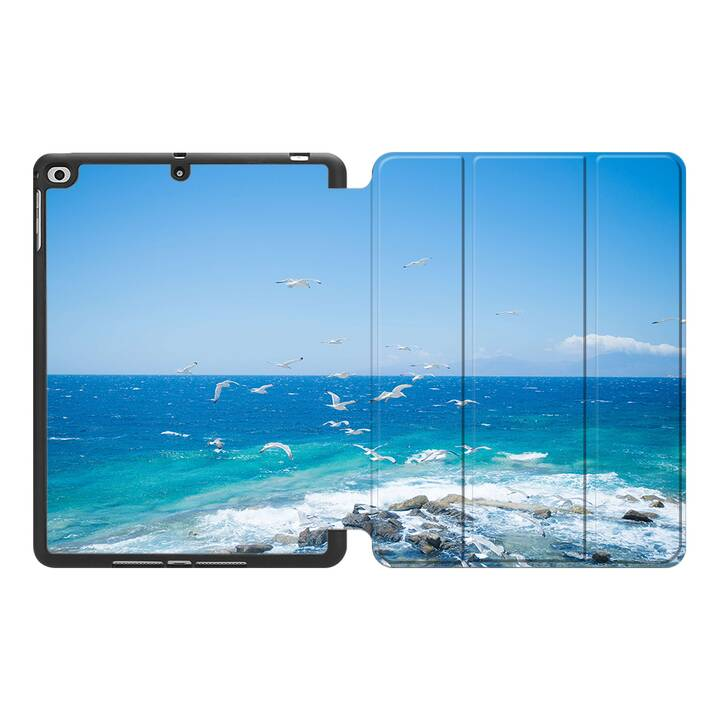 "EG MTT Custodia per Apple iPad 10.2"" 2019 - Spiaggia"