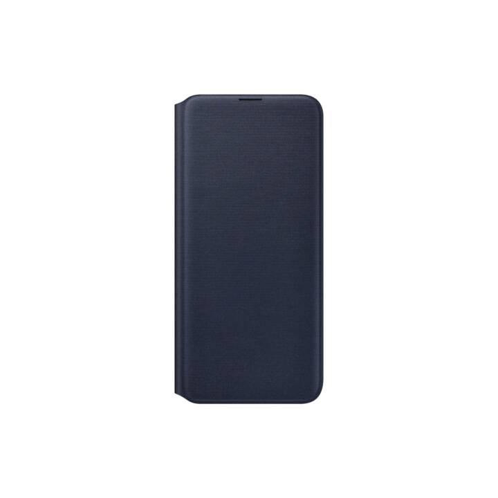SAMSUNG Flipcover EF-WA205P (Galaxy A20e, Blau, Schwarz)
