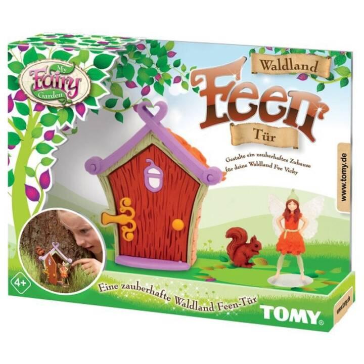 TOMY My Fairy Garden Waldland Feen Tür