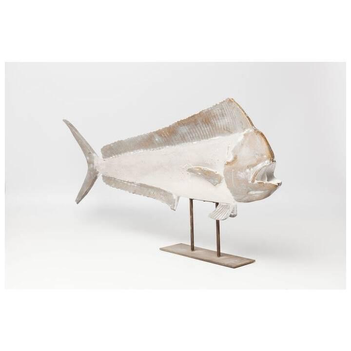KARE Deko-Figur Pesce (Weiss)