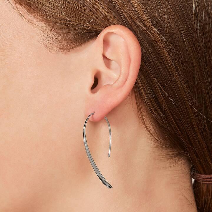 FOSSIL Bevel Hoop Pendants d'oreille (5 cm)