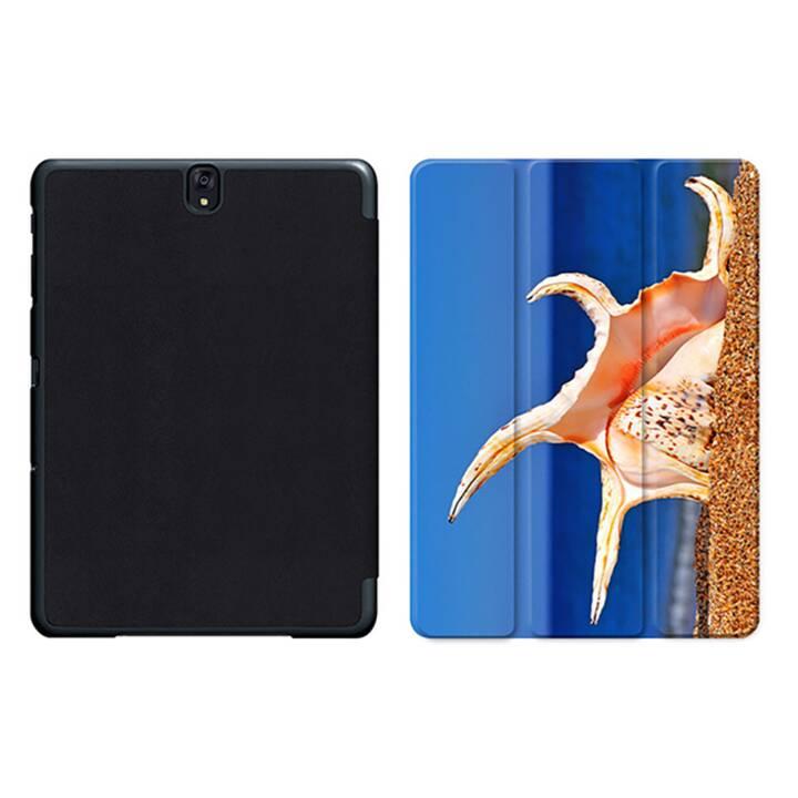 """EG MTT Sacoche pour tablette avec housse pliable Smart pour Samsung Galaxy Tab S3 9.7"""" MTT - Beach"""