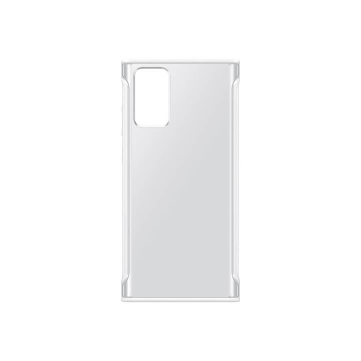 SAMSUNG Backcover Clear (Galaxy Note 20, Galaxy Note 20 5G, Transparente, Bianco)