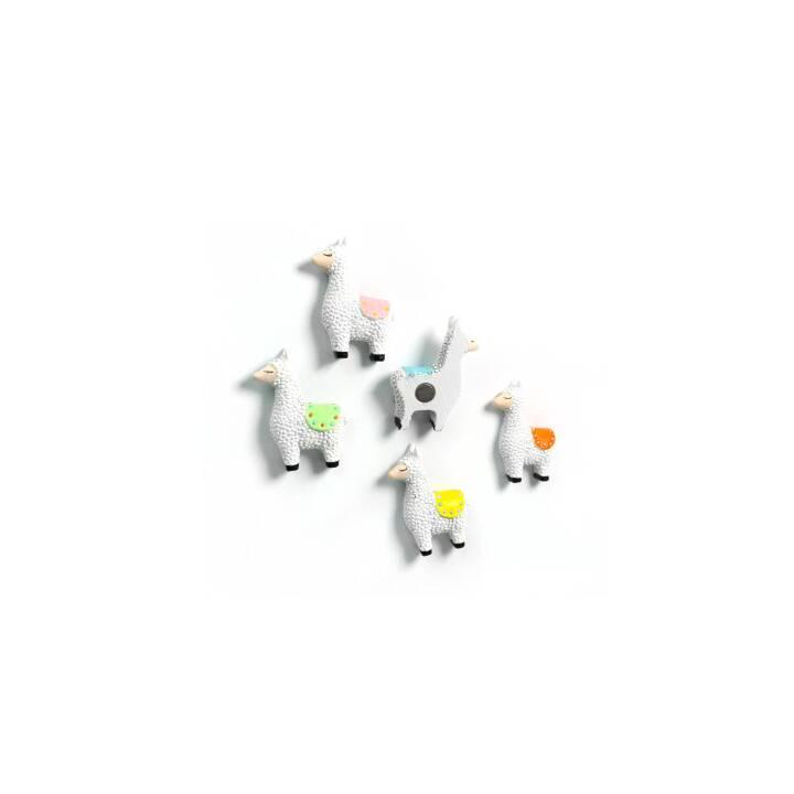 Aimants TRENDFORM Lama 5er-Set de lamas assortis