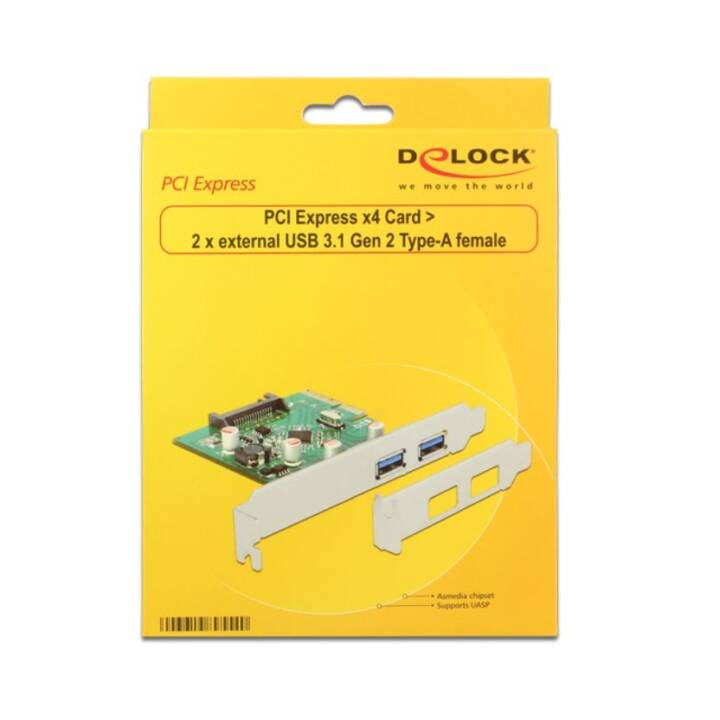 DELOCK 89554 PCI-Express Schnittstellenkarte