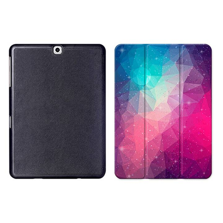 """EG MTT Tablet Tasche mit Smart faltbare Abdeckung für Samsung Galaxy Tab S2 9.7 """"- Pink"""