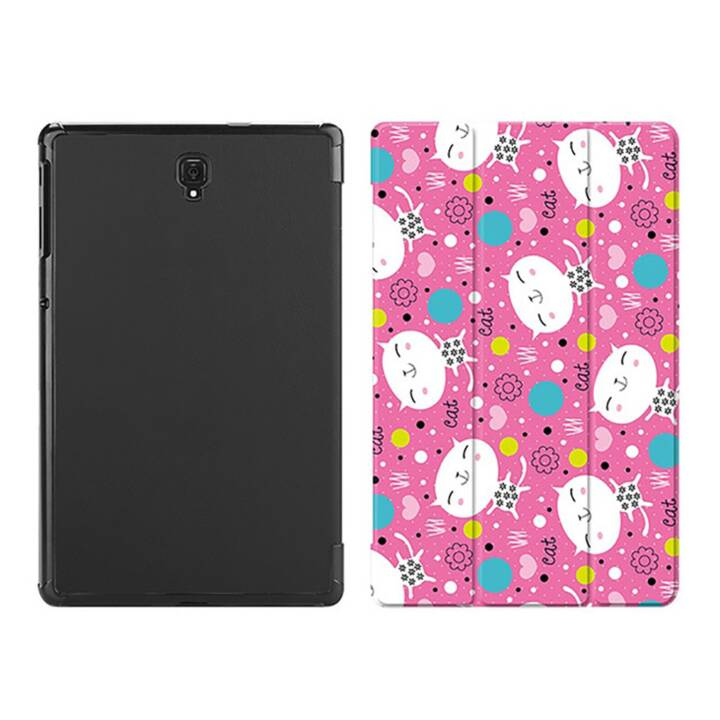 "EG MTT Custodia tablet per Samsung Galaxy Tab S4 10.5"" - Cartoon Cat"