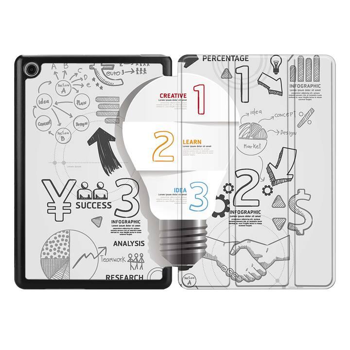 """EG MTT étui pour HUAWEI MediaPad M5 Lite 8"""" 2019 - idée"""