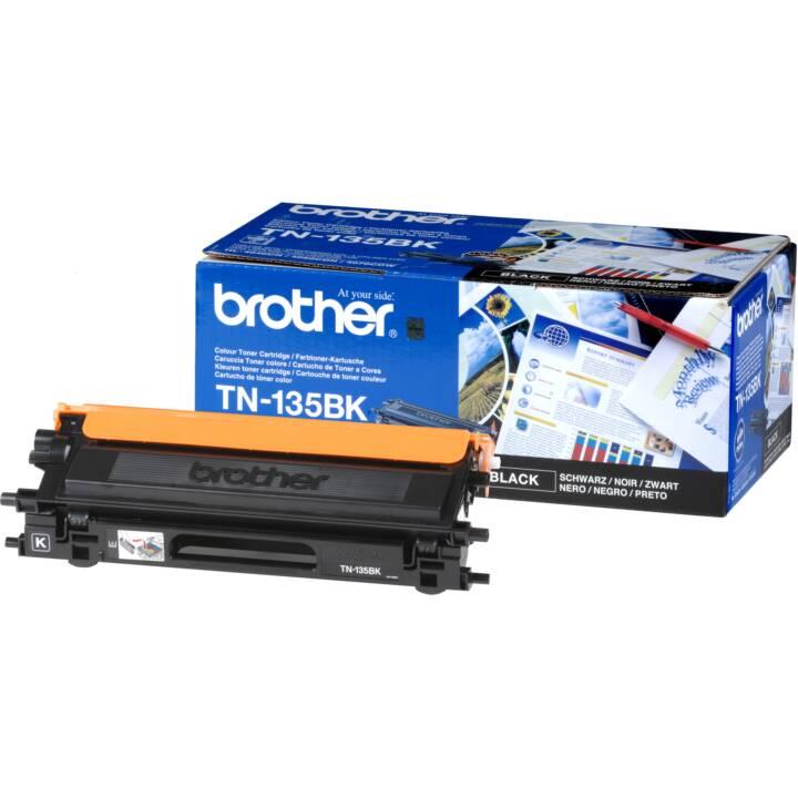 BROTHER TN135BK  (Toner seperato, Nero)