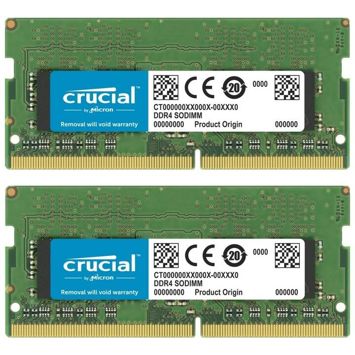 MICRON TECHNOLOGY CT2K16G4SFS8266 (2 x 16 Go, DDR4, SO-DIMM 260-Pin)
