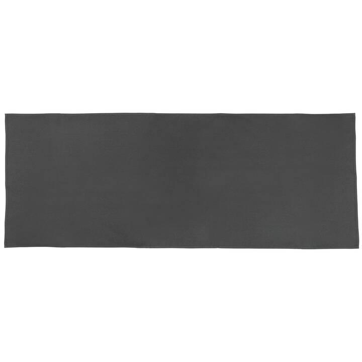 CASA LEON Chemin de table Lona (45 cm x 150 cm, Rectangulaire, Anthracite)