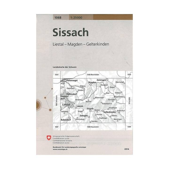 Sissach. 1:25'000