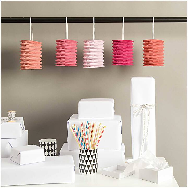 RICO DESIGN Lanterna (Pink, Rosso)