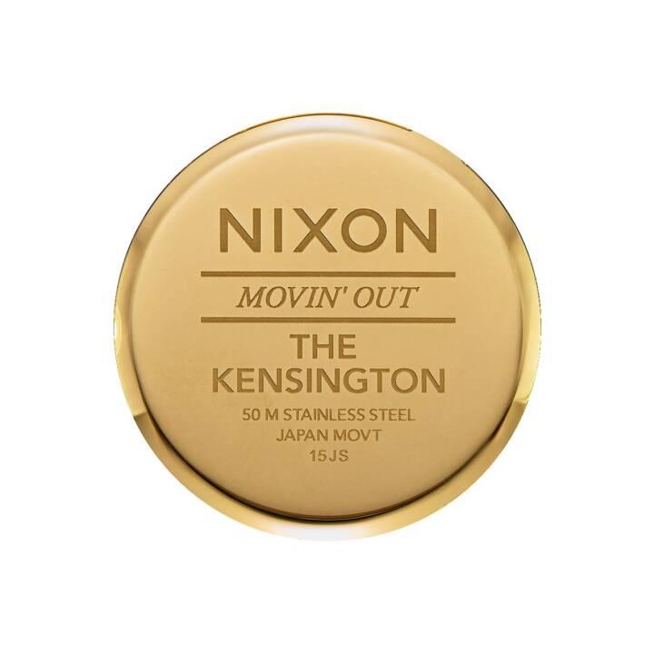 NIXON Kensington Leather (Analoguhr, 37 mm)