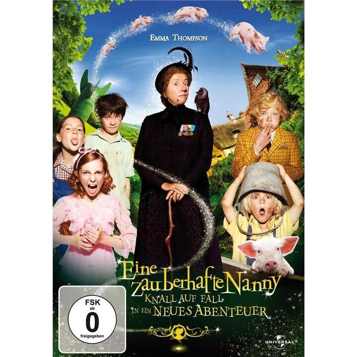 Eine zauberhafte Nanny - Knall auf Fall in ein neues Abenteuer (DE, EN, TR)