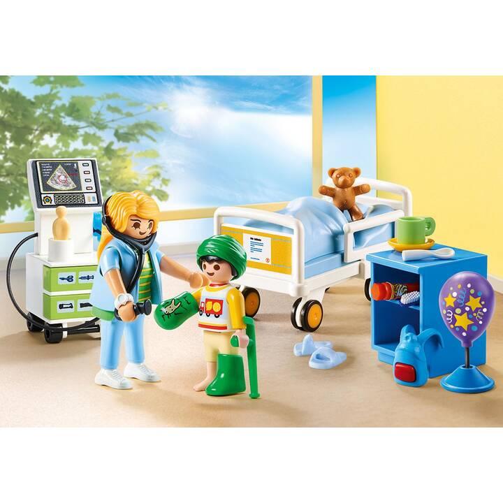 PLAYMOBIL City Life Chambre d'hôpital pour enfant (70192)