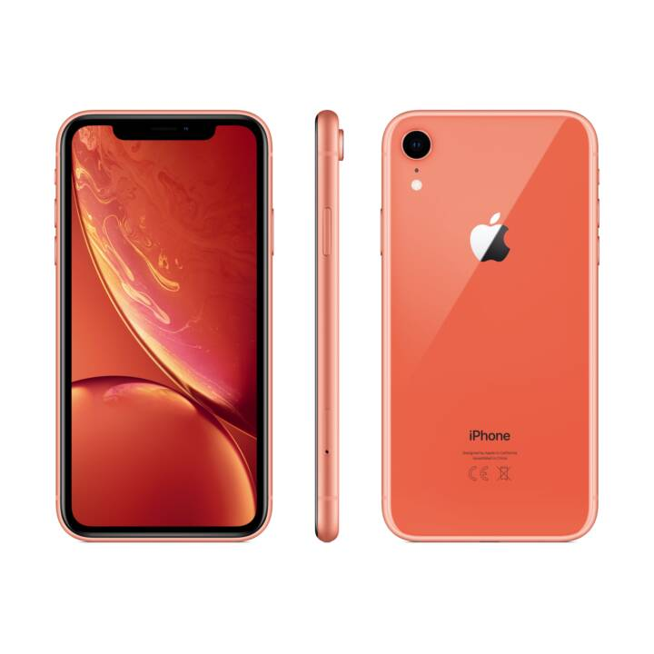 APPLE iPhone XR (128.0 GB, 6.1 inch, 12.0 MP, Koralle)