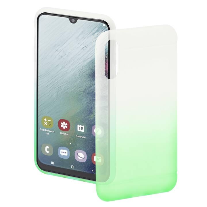 HAMA Backcover Colorful (Galaxy A50, Transparente, Verde)