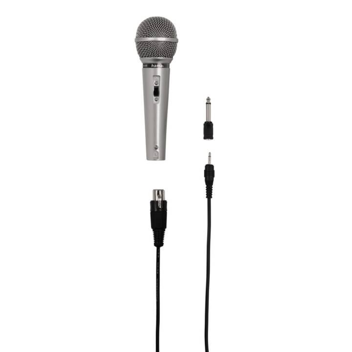 Microfono a mano HAMA DM 40 Argento