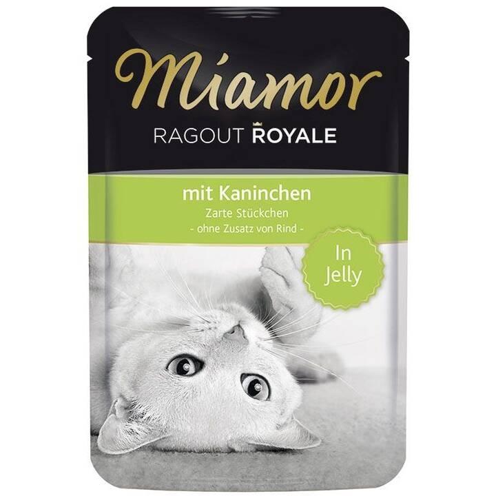MIAMOR Ragout Royale in Jelly (Adulto, 100 g, Coniglio)