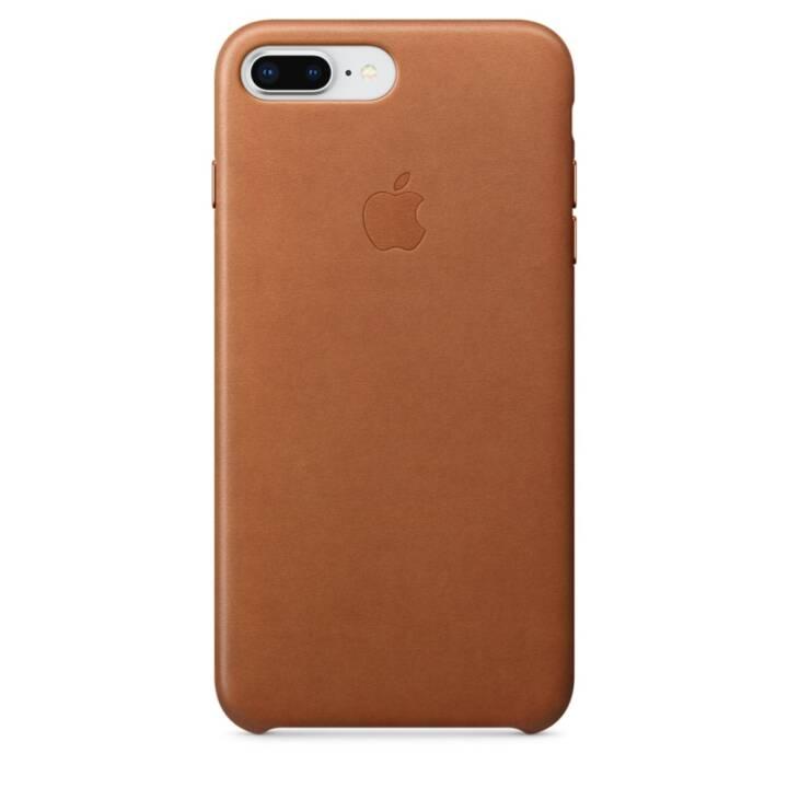 APPLE iPhone 8 Plus / 7 Plus Leder Case Sattelbraun