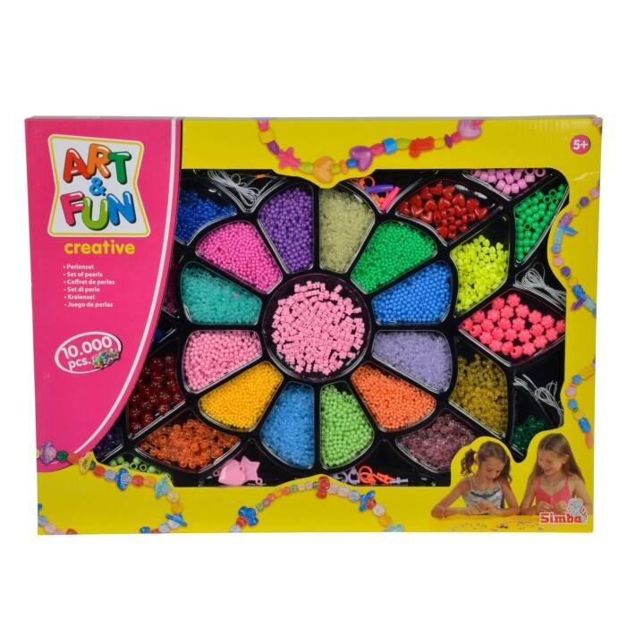ART AND FUN Simba Perles (Multicolore)