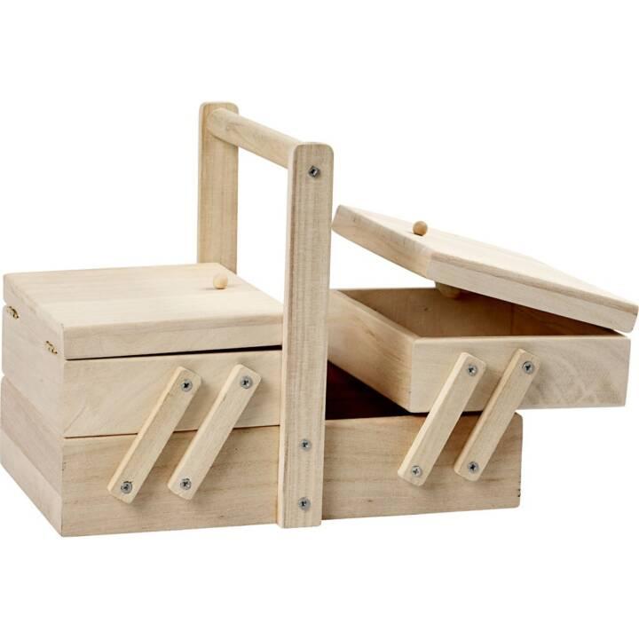 CREATIV Holz Aufbewahrungsbox