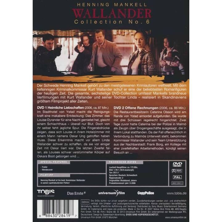 Wallander - Collection 6 (DE, SV, EN)