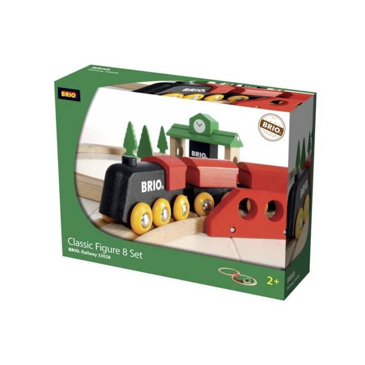 BRIO Eisenbahn Klassisches Bahn Acht Set