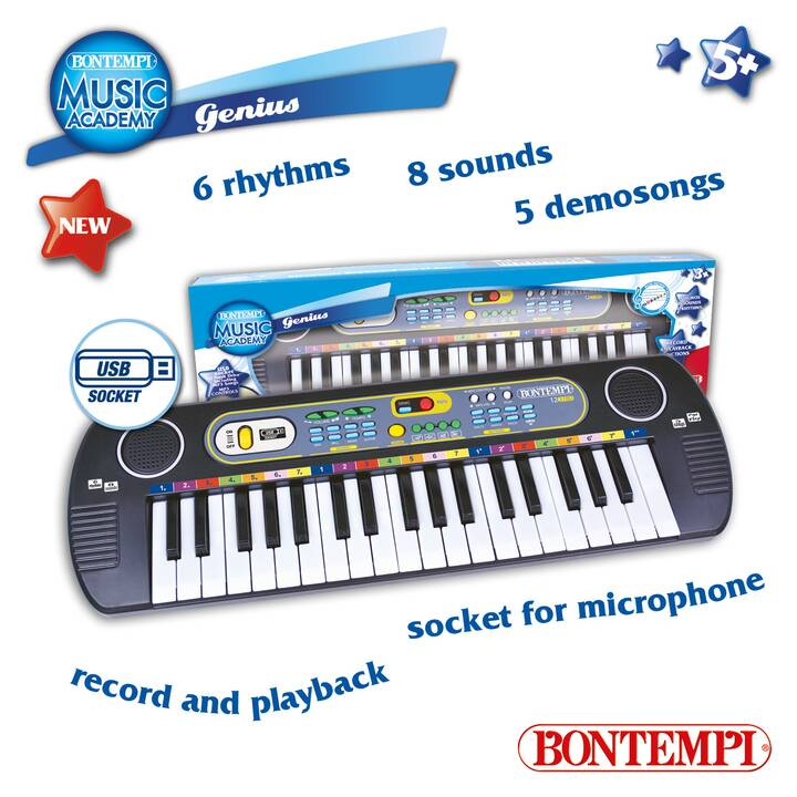 BONTEMPI Fare musica Keyboard (Multicolore)