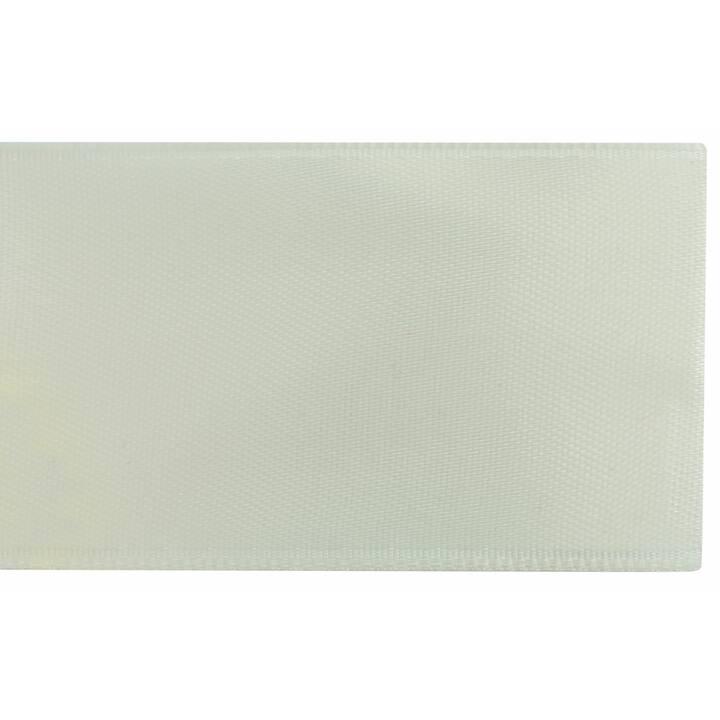 GLOREX Nastro decorativo Satin (Crema, 4 cm x 5 m)